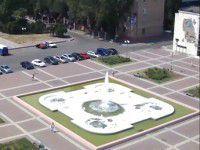 В мелитопольском фонтане устроили «пенную вечеринку» (ВИДЕО)
