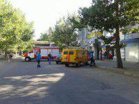 В Запорожской области банк  Коломойского взорвал мужчина в капюшоне