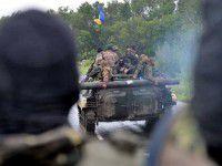 На запорожском блокпосту пытались разоружить около 300 украинских военных