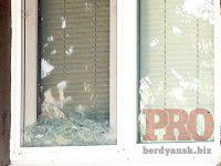 В Бердянске депутату горсовета разбили окна в доме
