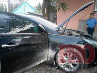 Машину депутата горсовета подожгли из-за Путина