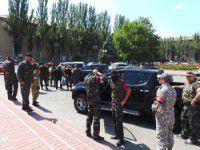 В Мелитополе «Правый сектор» подрался с самообороновцем