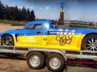 В гонках под Запорожьем поучаствует сверхмощный желто-синий «горбатый»
