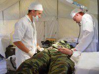 СНБО: В Донецкой области разгромлена местная больница, раненых везут в Бердянск