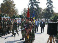 В воинскую часть Запорожья из зоны АТО вернулись артиллеристы