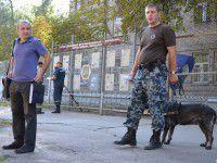 В Запорожье снова искали бомбу в военкомате