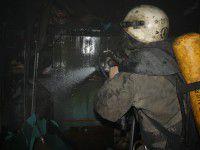 В Запорожье на пожаре погибла женщина: огонь ликвидировали 22 спасателя