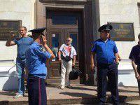 В Херсоне задержали запорожцев, приехавших за деньги на антивоенный митинг