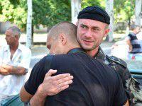 Самообороновцы из Запорожской области ушли на фронт