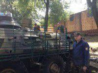 Запорожский цветовод занялся оснащением БТРов