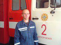 Без права на отдых: запорожский спасатель достал из Днепра тонувшего мужчину