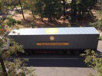 В Запорожье приехали 60 грузовиков с гуманитарной помощью от олигарха Ахметова