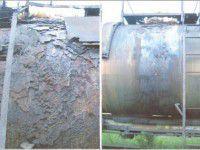 Запорожский завод хранил химикаты в непригодных цистернах