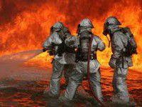 В собственном доме заживо сгорела пожилая женщина