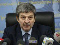 Запорожский бомонд предлагает деньги на «снятие Шацкого» — прокурор