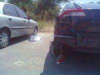 Пьяный водитель на «Славуте» разбил четыре машины (ФОТО)