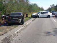 Водитель «Жигулей» устроил тройное ДТП и поспешил скрыться (Фото)