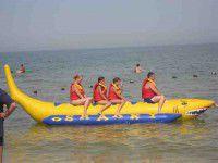В Приморске «банан» с детьми отнесло в открытое море