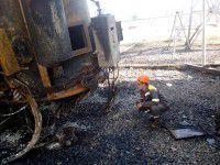 В Энергодаре на ТЭС взорвался трансформатор — очевидцы
