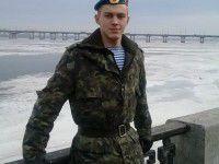 Президент наградил тяжело раненого запорожского бойца за мужество