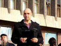 Видео: Лидер запорожского Майдана вызвал на «дуэль» главу СБУ Украины