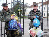 В запорожских школах на нужды солдат и беженцев собрали около полумиллиона