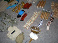 Подробности: на блокпосту задержали солдата с боеприпасами