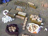 Фотофакт: Через запорожский блокпост пытались провезти противотанковые гранатометы