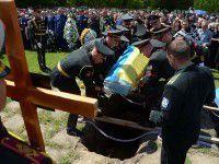 Полсотни неопознанных погибших бойцов похоронят 1 октября