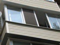 На Бабурке мужчина выпал с 8-ого этажа