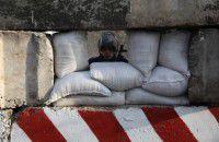 Мариупольскую трассу на границе с Запорожской областью усиленно охраняют