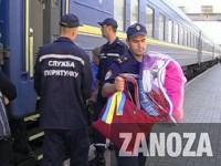 На Западную Украину прибыли первые беженцы из Запорожской области