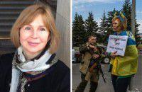Патриотка, над которой издевались возле позорного столба, переехала в Запорожье