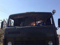 Пушка протаранила военный КАМАЗ: есть погибший