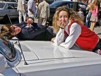 Фоторепортаж: На ретро-фестивале запорожцы оказались на месте Брежнева