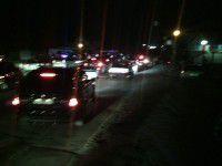 Ночный пикет: Запорожцы перекрыли мост, требуя подключить свет после урагана
