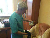 Запорожские волонтеры доставили аппарат для лечения раненых солдат
