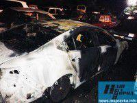 В Запорожском регионе на стоянке взрывной волной повредило пять легковушек (Фото)