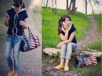 Уличная мода по-запорожски: судьбоносная жилетка, яркие кеды и сумка в звездочку