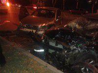 В ночном ДТП на перекрестке пострадали трое