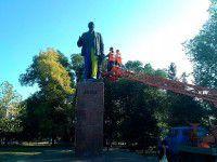 Фотофакт: Бердянцы «приодели» местного Ленина