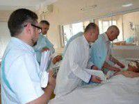 Двое раненых самообороновцев лечатся в Прибалтике