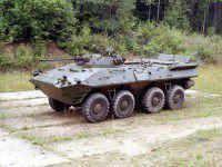 Атака донецкого аэропорта: российский танк обстрелял БТР с запорожским бойцом