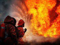 В Запорожской области пожар унес жизнь женщины