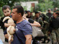 В Запорожье прибывают все новые и новые беженцы