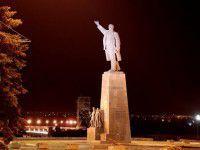 В Запорожье Ленина охраняет милиция