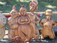 В центральном парке Запорожья провели выставку ручных работ