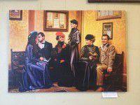 Фотофакт: В Запорожской мэрии появился модный салон 19 века