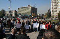 Запорожские медики снова собираются на пикет обладминистрации