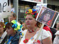 Российская активистка в Запорожье: «В зоне АТО уже погибли 8 тысяч украинцев»